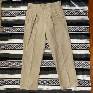 Croft & Barrow Pleated Khaki Pants